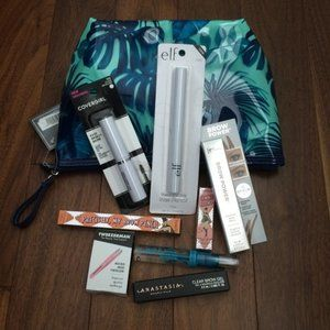 Other - Eyebrow Product Mixed Sample Set with Cosmetic Bag